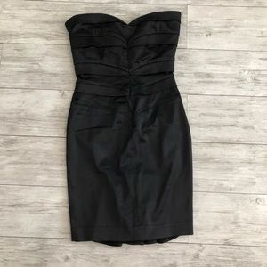 COPY - Bebe Black Strapless Dress